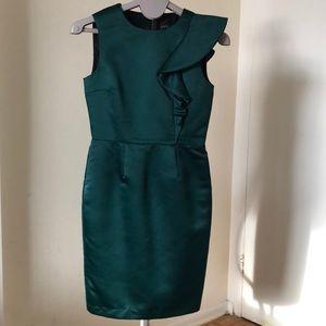 Zara dark green dress